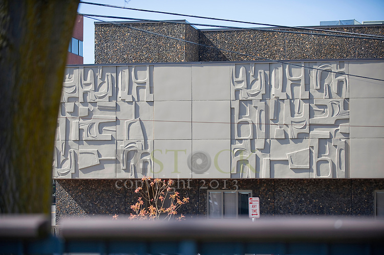Modern Art on Building