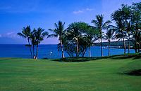 South No. 16 of the Makena Resort golf course on Maui