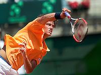 6-3-09,Argentina, Buenos Aires, Daviscup  Argentina-Netherlands,  Jesse Huta Galung