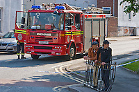Copyright All rights reserved Stalingrad O'Neill<br /> Direct Furniture Choice Ltd on Sparkbrook's Montgomery Street caught fire at around 4pm requiring the attendance of fifteen fire appliances two hydraulic platforms were used to contain and bring it under control as a precaution Around 50 residents were evacuated from nearby homes