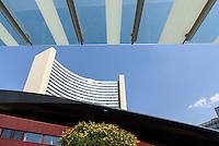 Sousa-Mendes-Promenade und UNO-City, Wien, Österreich<br /> Sousa Mendez Promenade and UNO-City, Vienna, Austria