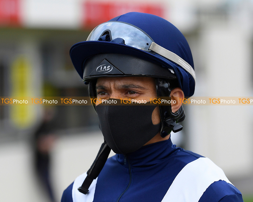 Jockey Sean Levey during Horse Racing at Salisbury Racecourse on 11th September 2020