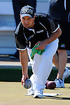 Shannon McIlroy during the 2014 Stoke Invitation Championship. Stoke Bowling Club, Stoke, Nelson, New Zealand. Friday 31 October 2014. Photo: Chris Symes/www.shuttersport.co.nz