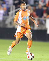 Matt Watson #8 Of the Carolina Railhawks during the second leg of the USSF-D2 championship match against the Puerto Rico Islanders at WakeMed Soccer Park, in Cary, North Carolina on October 30 2010. Game ended 1-1, Islanders won the championship 3-1 on overall goals.