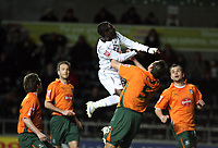 Pictured: Nathan Dyer of Swansea City<br /> Picture by D Legakis / Athena Picture Agency, Swansea, 07815441513