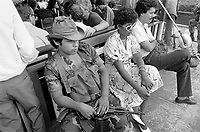 - Nicaragua, armed escort on the boat in service from Rama to Bluefields on the Rio Escondido (January 1988)<br /> <br /> - Nicaragua, scorta armata sul battello in servizio da Rama a Bluefields sul Rio Escondido (Gennaio 1988)