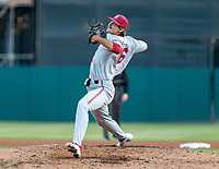STANFORD, CA - JUNE 7: Jonathan Worley during a game between UC Irvine and Stanford Baseball at Sunken Diamond on June 7, 2021 in Stanford, California.