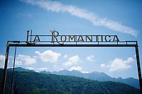 """the Giro as it is: """"La Romantica""""<br /> <br /> Giro d'Italia 2015<br /> stage 18: Melide (SUI) - Verbania (170km)"""