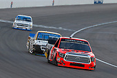 NASCAR Camping World Truck Series<br /> Las Vegas 350<br /> Las Vegas Motor Speedway, Las Vegas, NV USA<br /> Saturday 30 September 2017<br /> Cody Coughlin, Ride TV/ Jegs Toyota Tundra and Kaz Grala, Chevrolet Silverado<br /> World Copyright: Russell LaBounty<br /> LAT Images