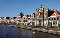 Nederland Haarlem - 2020. Het Teylers Museum aan het Spaarne . Foto : ANP/ HH / Berlinda van Dam