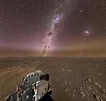Milky Way on Mars, NASA PHOTO