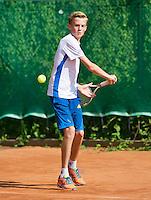 August 4, 2014, Netherlands, Dordrecht, TC Dash 35, Tennis, National Junior Championships, NJK,  Jurre Seegers (NED)<br /> Photo: Tennisimages/Henk Koster