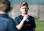 St Johnstone Trainig….20.10.17<br />Liam Craig pictured during training this morning at McDiarmid Park ahead of tomorrows game against Hearts<br />Picture by Graeme Hart. <br />Copyright Perthshire Picture Agency<br />Tel: 01738 623350  Mobile: 07990 594431
