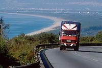 - trucks on the Salerno - Reggio Calabria  freeway....- autocarri sull'autostrada Salerno - Reggio Calabria