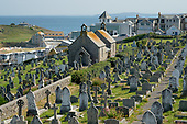 Barnoon cemetery, St.Ives, Cornwall.