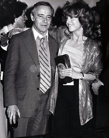 "Jack Lemmon, Jane Fonda 1979<br /> OPENING OF ''The China Syndrome""<br /> <br /> Credit:  John Barrett/PHOTOlink/MediaPunch"