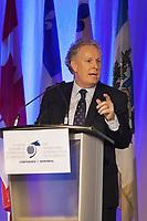 Montréal le 6 juin 2011, ouverture du Forum économique international des Amériques, discours du premier ministre du Québec M. Jean Charest // Montreal, June 6, 2011, opening of the International Economic Forum of the Americas, speech by the Premier of Quebec Mr. Jean Charest<br /> PHOTO :  Agence Quebec presse