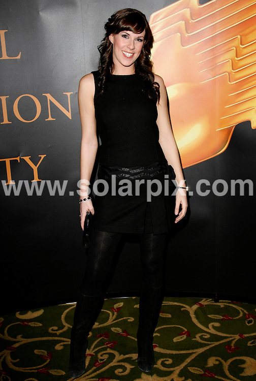 ALL ROUND PICTURES FROM SOLARPIX.COM.**WORLDWIDE RIGHTS*.Verity Rushworth arrives for the 2007 RTS Programme Awards at the Grosvenor House Hotel, Park Lane, London on 13.03.07....REF:   3495    PRS        DATE: 13.03.07.**MUST CREDIT SOLARPIX.COM OR DOUBLE FEE WILL BE CHARGED* *UNDER NO CIRCUMSTANCES IS THIS IMAGE TO BE REPRODUCED FOR ANY ONLINE EDITION WITHOUT PRIOR PERMISSION*