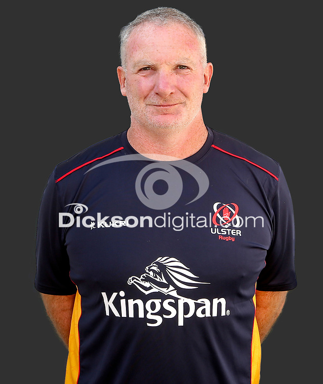 Tuesday 24th August 2021<br /> <br /> Dan Soper - Ulster Rugby Backs Coach<br /> <br /> Ulster Rugby Head Shots at Kingspan Stadium, Ravenhill Park, Belfast, Northern Ireland. Photo by John Dickson/Dicksondigital