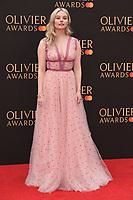 Nell Hudson<br /> arriving for the Olivier Awards 2019 at the Royal Albert Hall, London<br /> <br /> ©Ash Knotek  D3492  07/04/2019
