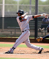 Carlos Quintana / AZL Giants..Photo by:  Bill Mitchell/Four Seam Images