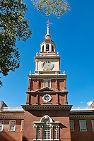 Independence Hall is a U.S. national landmark located in Philadelphia, Pennsylvania