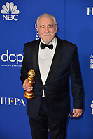 LOS ANGELES, USA. January 05, 2020: Brian Cox in the press room at the 2020 Golden Globe Awards at the Beverly Hilton Hotel.<br /> Picture: Paul Smith/Featureflash