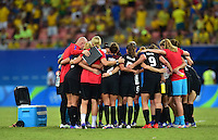 Manaus, Brazil - Tuesday, August 9, 2016: The USWNT and Colombia play to a 2-2 draw to complete Group G play during the 2016 Olympics at Amazonia Arena.