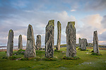 Isle of Lewis, Scotland:<br /> Standing stones at Callanish