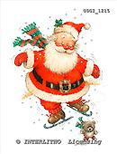 GIORDANO, CHRISTMAS SANTA, SNOWMAN, WEIHNACHTSMÄNNER, SCHNEEMÄNNER, PAPÁ NOEL, MUÑECOS DE NIEVE, paintings+++++,USGI1215,#X# stickers