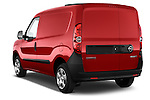 Car pictures of rear three quarter view of a 2015 Opel COMBO LiHI 4 Door Cargo Van 2WD Angular Rear