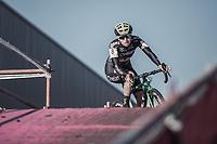 Maud Kaptheijns (NED/Crelan-Charles) .<br /> <br /> women's elite race<br /> Flandriencross Hamme / Belgium 2017