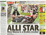 Daily Mirror - Sport.Sheffield United v Bristol City.Page 16 Football Mania.25th April 2011