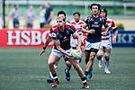 Jamie Hood of Hong Kong in action during the Asia Rugby Championship 2017 match between Hong Kong and Japan on May 13, 2017 in Hong Kong, China. Photo by Marcio Rodrigo Machado / Power Sport Images
