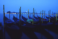 Moored gondole, Venice<br />