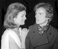 Jackie Kennedy Rudolph Nureyev 1978<br /> Photo By Adam Scull/PHOTOlink.net