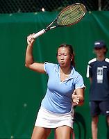 16-8-06,Amsterdam, Tennis, NK, First round match, Pauline Wong