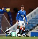 02.05.2021 Rangers v Celtic: Jack Simpson and Odsonne Edouard