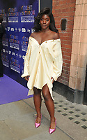 """Aisha Jawando at the """"The Show Must Go On!"""" red carpet pre-show, Palace Theatre, Shaftesbury Avenue, London, on Sunday 06 June 2021 in London, England, UK. <br /> CAP/CAN<br /> ©CAN/Capital Pictures"""