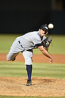 Peoria Javelinas pitcher Zach Cooper (41) during an Arizona Fall League game against the Salt River Rafters on October 17, 2014 at Salt River Fields at Talking Stick in Scottsdale, Arizona.  The game ended in a 3-3 tie.  (Mike Janes/Four Seam Images)
