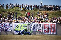 VALENTINO ROSSI - ITALIAN - MOVISTAR YAMAHA MotoGP - YAMAHA<br /> Le Mans 19-05-2018 Moto Gp Francia<br /> Foto Vincent Guignet / Panoramic / Insidefoto