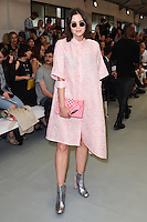 Lilah Parsons<br /> at the Eudon Choi catwalk show as part of London Fashion Week SS17, Brewer Street Car Park, Soho London<br /> <br /> <br /> ©Ash Knotek  D3155  16/09/2016