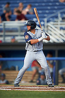 Brooklyn Cyclones third baseman Blake Tiberi (11) at bat during a game against the Batavia Muckdogs on July 6, 2016 at Dwyer Stadium in Batavia, New York.  Batavia defeated Brooklyn 15-2.  (Mike Janes/Four Seam Images)