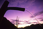 Sunset on Valle Bondasca from Capanna Sasc Furä. Bergell, Switzerland, August 2011.