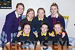 Castleisland Presentation students helping Gaelscoil Aogain pupils how to build cars for engineering week in Castleisland Presentation on Friday Front row l-r: Grainne O'Shea, Lucy McKenna, Rachel Horgan Back row: Grainne Walsh, Holly Horan, Deirdre Moynihan, Lisa Flynn