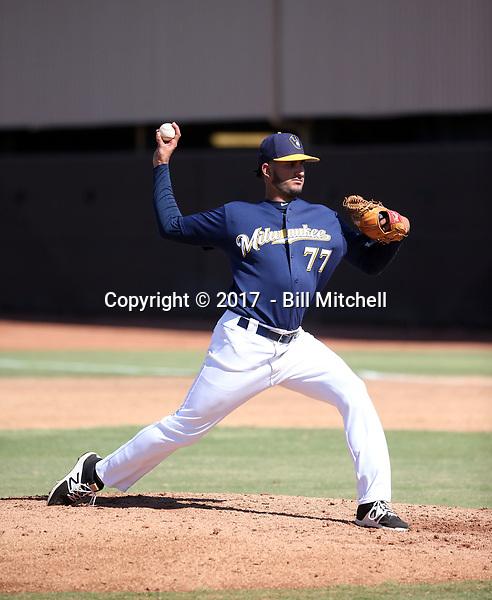Nelson Hernandez - 2017 AIL Brewers (Bill Mitchell)