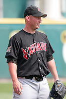 Indianapolis Indians Scott Strickland during an International League game at Dunn Tire Park on June 18, 2006 in Buffalo, New York.  (Mike Janes/Four Seam Images)
