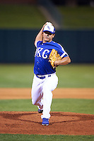 Oklahoma City Dodgers pitcher Chin-hui Tsao (25) delivers a pitch during a game against the Fresno Grizzles on June 1, 2015 at Chickasaw Bricktown Ballpark in Oklahoma City, Oklahoma.  Fresno defeated Oklahoma City 14-1.  (Mike Janes/Four Seam Images)