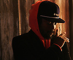 Will.I.Am of the Black Eyed Peas at his studio in Los Angeles Wednesday December 27, 2006. He is up for several Grammys this year including producer of the year.