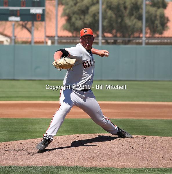 John Gavin - San Francisco Giants 2019 spring training (Bill Mitchell)